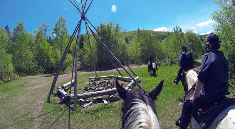 Ballade � cheval