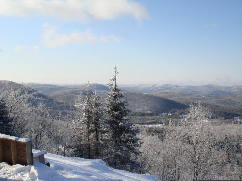 vue haut montagne