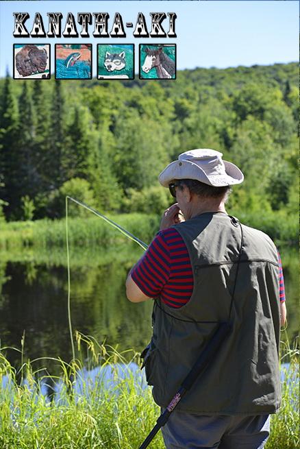 Forfait pêche à la mouche dans les Laurentides