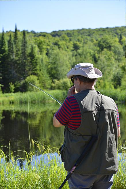 Forfait pêche à la truite