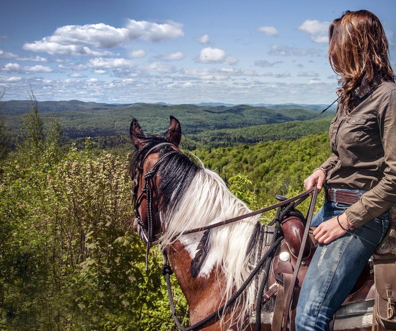 Activités à cheval Laurentides